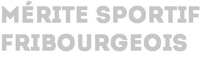 Mérite sportif fribourgeois